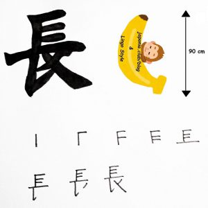 Learn Kanji every day – Kanji 191: 長 (long)